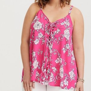 Torrid Sophie Lace Up Swing Cami Size - 4X (26)